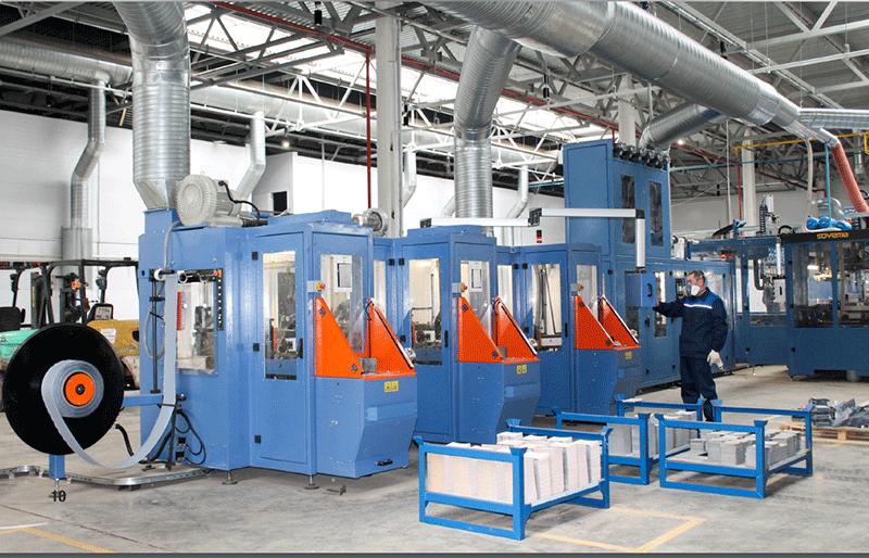 Завод по производству аккумуляторов E-LAB